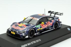 Model car BMW DTM Da Costa 2015 scale 1:43