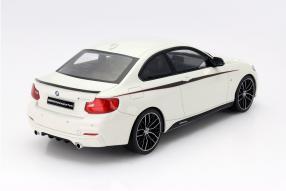 model car BMW M235i Performance scale 1:18
