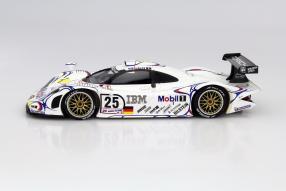 Modellauto Porsche 911 GT1 Le Mans 1998 Maßstab 1:18