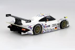 model car Porsche 911 GT1 Le Mans 1998 scale  1:18