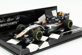 Modellauto Nico Hülkenberg Formel 1 2015 Maßstab 1:43