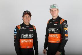 Sergio Pérez und Nico Hülkenberg