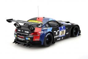 model car BMW Z4 GT3 Nürburgring 2013 scale 1:18