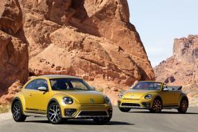 VW Beetle Dune Limousine und Cabriolet