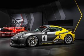 Porsche Cayman GT4 Clubsport Los Angeles Auto Show 2015
