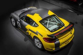 Neu: Porsche Cayman GT4 Clubsport Los Angeles Auto Show 2015