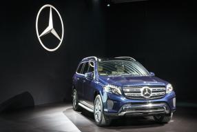 Mercedes-Benz GLS Los Angeles Auto Show 2015