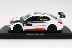 model car Citroën C-Elysée WTCC 2015 scale 1:43