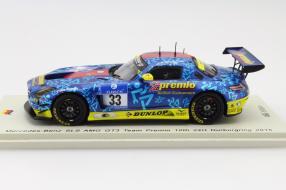 Modellauto Mercedes Team Premio Maßstab 1:43