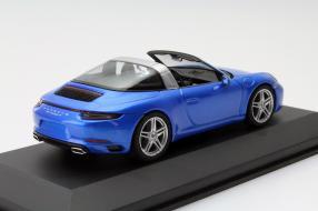 Modellauto Porsche 911 991/II Targa von Herpa im Maßstab 1:43