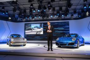 Porsche 911 991/II Premiere auf Los Angeles Auto Show