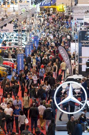 Besucher Essen Motor Show 130.000 am ersten Wochenende