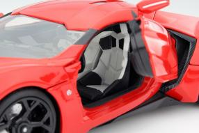 model car Lykan Hypersport scale 1:18