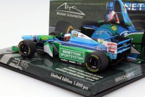 Modellauto Benetton Ford B194 Michael Schumacher 1994 1:43