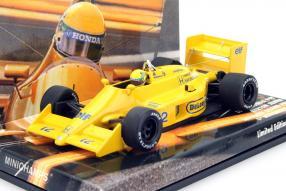 Ayrton Senna Lotus 99T Honda Maßstab 1:43