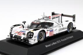 Modellauto Gewinner Porsche 919 Le Mans 2015 Maßstab 1:43