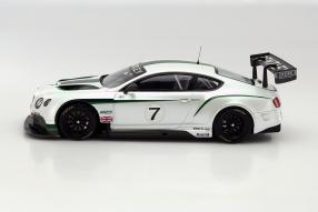 Modellauto Bentley Continental GT3 2013 Maßstab 1:18