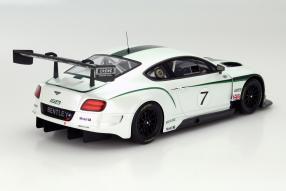 model car Bentley Continental GT3 2013 scale 1:18