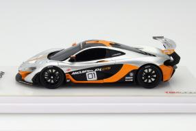 Modellauto McLaren P1 GTR Maßstab 1:43