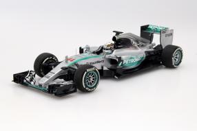 Minichamps Formel 1 Lewis Hamilton 1:18