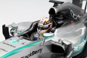 Minichamps Lewis Hamilton Formel 1 2015 #6 Maßstab 1:18