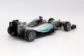 Modellauto Minichamps Formel 1 Lewis Hamilton Maßstab 1:18