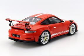Modellauto Porsche 911 / 991 GT3 RS Spark Maßstab 1:18