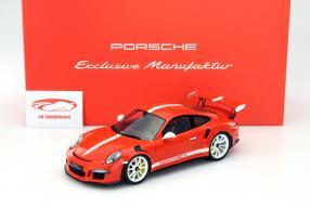 Porsche 911 / 991 GT3 RS Modellauto Maßstab 1:18