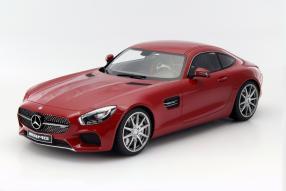 model car Mercedes-AMG GT scale 1:12