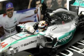 Minichamps Formel 1 Lewis Hamilton 1:43