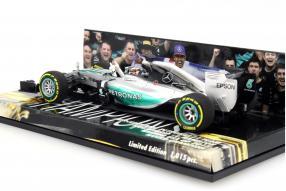 Modellauto Lewis Hamilton Formel 1 2015 W06 Malaysia Maßstab 1:43