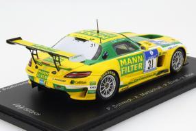 model car Mercedes-Benz SLS AMG GT3 scale 1:43