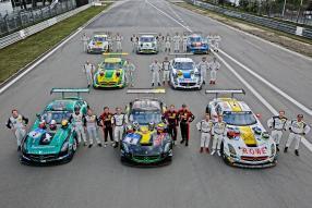 SLS AMG GT3 24 Stunden Nürburgring 2015