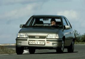 Opel Kadett GSi 1984 bis 1991, 5. Generation, Kadett E