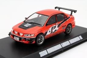 Mitsubishi Lancer Evolution IX Modellauto Maßstab 1:43