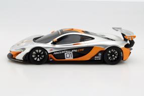 Model car McLaren P1 GTR scale 1:18