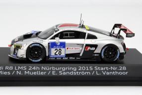 model car Winner Nürburgring 2015 Audi R8 scale 1:43