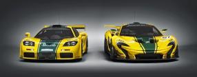 McLaren F1 und P1 GTR