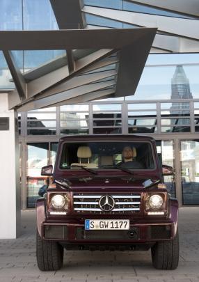 Mercedes-Benz W 463 G-Klasse designo mystictorot bright
