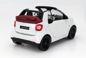 model car smart fortwo Cabriolet scale 1:18