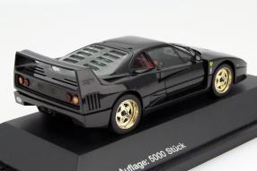 model car Ferrari F40 Herpa scale 1:43