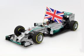 Mercedes F1 W05 2014 1:18