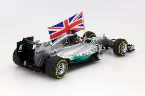 Modellauto Mercedes F1 W05 2014 Maßstab 1:18
