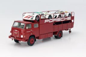 MAN 635 Porsche Renntransporter 1:43