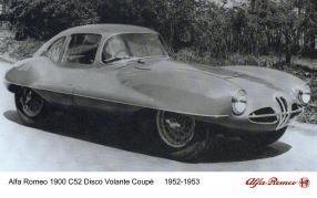 Carrozzeria Touring Alfa Romeo Disco Volante 1952