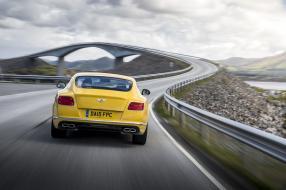 Bentley Continental GT V8 S Monaco Gelb