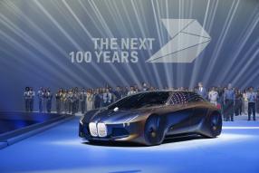 Auftakt 100 Jahr Feiern BMW