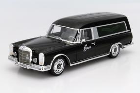 Mercedes-Benz 600 Bestattungswagen 1:18