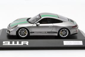 Modellauto Porsche 911 R 991 1:43