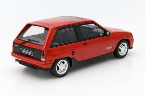 Modellauto Opel Corsa A GSi Maßstab 1:18